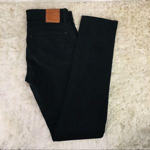 Black BCBG Max Azria Black Stretch Jeans Sz 27
